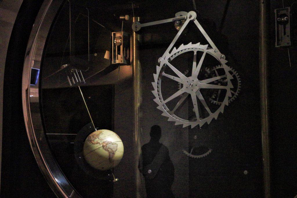atmosphärische Darstellung des möglichen inneren einer Zeitkapsel